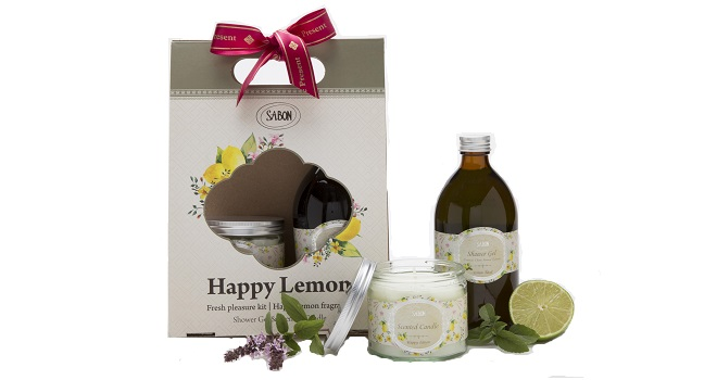 מארז Happy Lemon מבית Sabon
