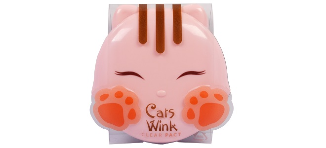 Tony Moly, Cat's Wink, Clear Pact, Light Beige