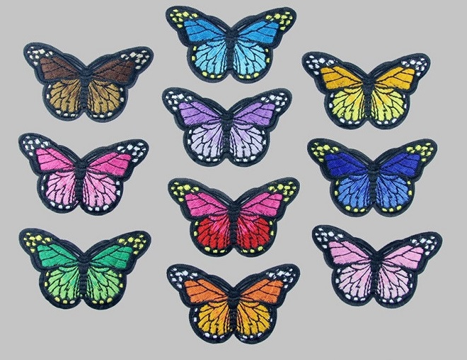 butterflies patches